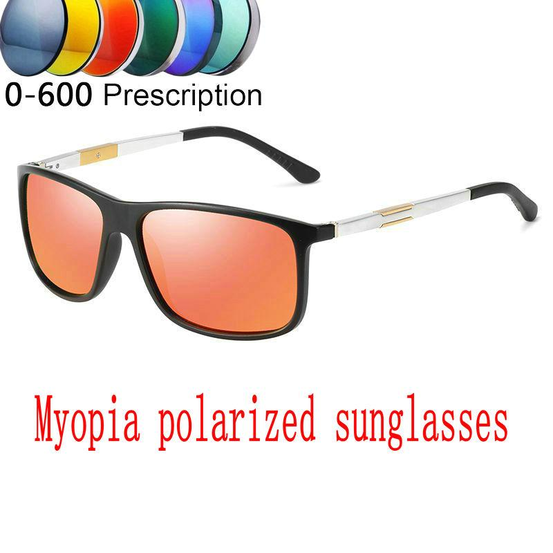 32b5cc10e9 2019 Custom Made Myopia Minus Prescription Polarized Lens SunglassesSquare Polarized  Sunglasses Driving Sport Eyewear FML Sunglasses Cheap Sunglasses 2019 ...