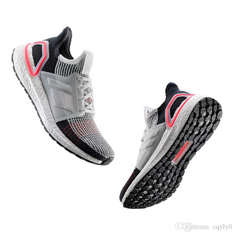 9ca88ffbf93 High Quality Ultra Boost 2019 Multicolor Laser Red Oreo Refract Dark Pixel Shoes  Men Women UltraBoost 19 UB 5.0 Black White Multi Sneakers Wedge Shoes ...