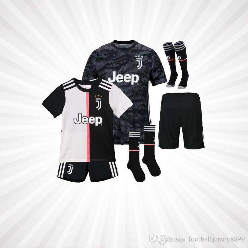 MEN Kids RONALDO Fußball Trikot Juventus DYBALA Fußball Trikot MANDZUKIC Kean Emre Can 201920 Juve Torwart Camiseta BERNARDESCHI Maillot