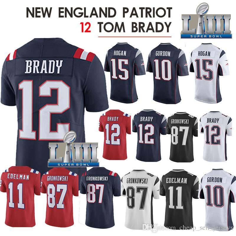 buy popular bf593 ce860 10 Patriot jersey 12 Julian 11 Rob 87 Gronkowski Patriot jerseys 14 Brandin  Cooks 92 James Harrison