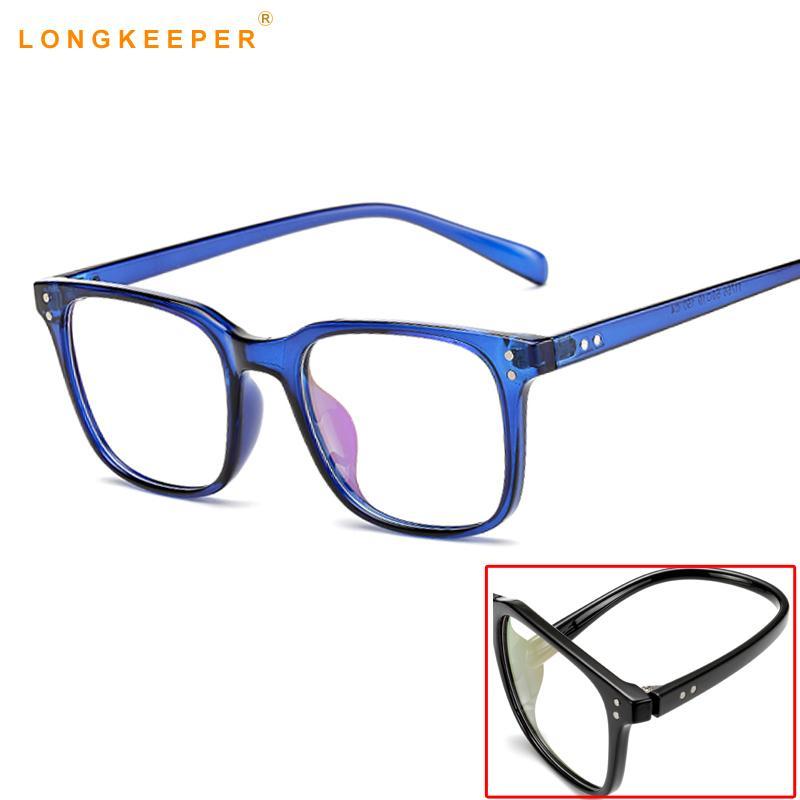 Damenbrillen Bekleidung Zubehör 2019 Frauen Gläser Rahmen Männer Anti Blau Licht Brillen Rahmen Vintage Runde Klare Linse Gläser Optische Spektakel Rahmen StraßEnpreis
