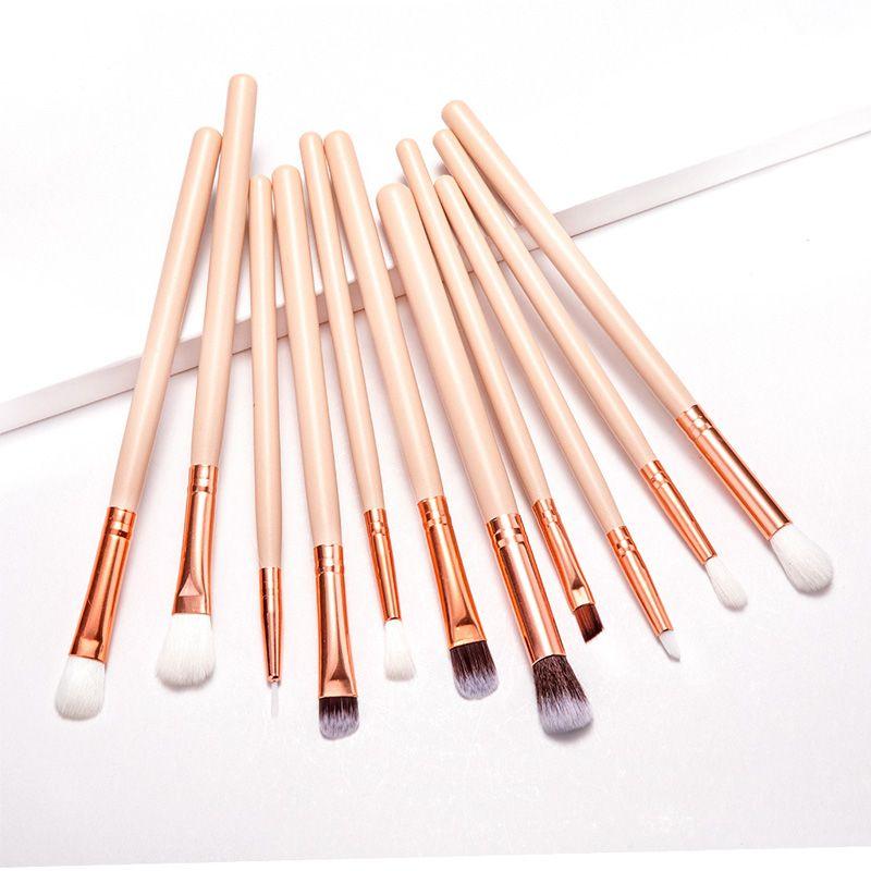 pennelli trucco set professionale compone la spazzola Ombretto Blending eyeliner ciglia sopracciglio pennello Eye Shadow Brush Set cosmetici Strumenti