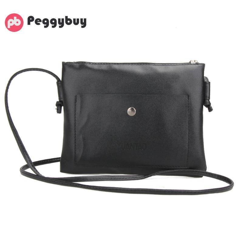 b67601d41dfe Cheap Fashion Crossbody Bags For Women Small Leather Satchel Purse Ladies  Messenger Totes Crossbody Shoulder Bags Soft Mochilas Bolsas Name Brand  Purses ...