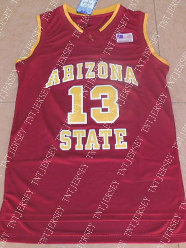new arrival 9a3fd ff122 Cheap wholesale James Harden jersey #13 Arizona state Sewn Basketball  jerseys Customize any name number MEN WOMEN YOUTH basketball jersey