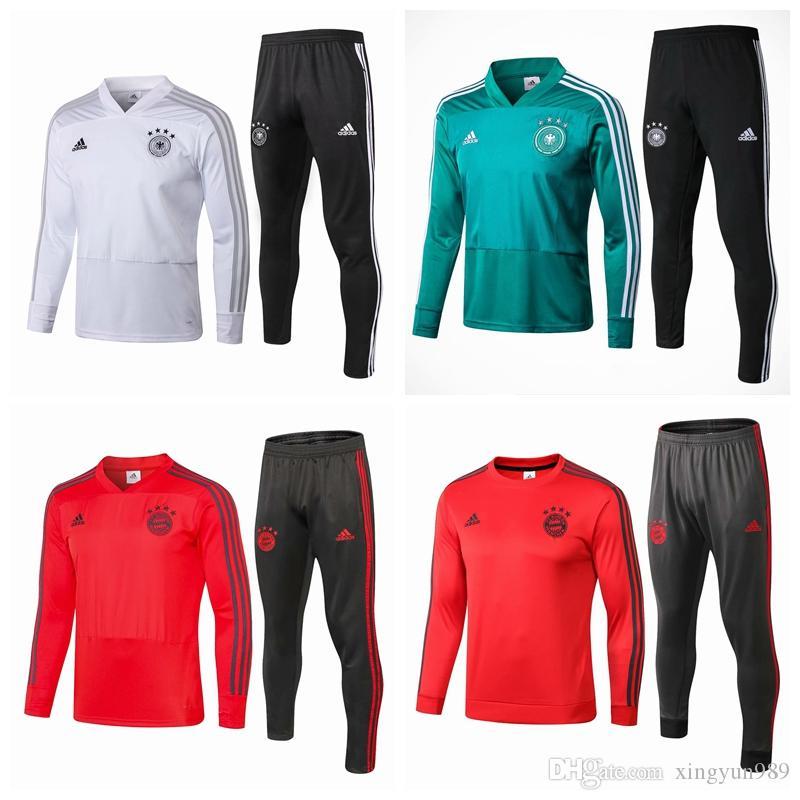 pretty nice af2fc 64402 18-19 Real Madrid Ajax Arsenal Germany Bayern FC PSG BVB soccer MBAPPE  Jerseys maillot de foot SURVETEMENT FOOTBALL jacket tracksuit set
