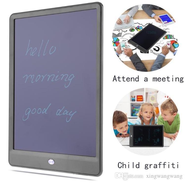TOPNEW LCD 10 بوصة الكتابة اللوحي شاشات الكريستال السائل الكتابة مجلس سبورة الكتابة اليدوية وسادات بلا أوراق المفكرة لوح مذكرة مع ترقية القلم DHL مجانا