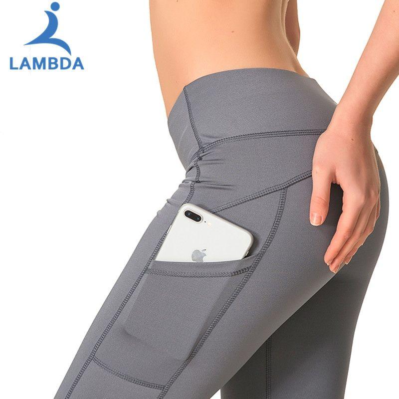 Sportlegging Winter.2019 Yoga Pants Vrouwen Sneldrogend Hoge Elasticiteit Fitness