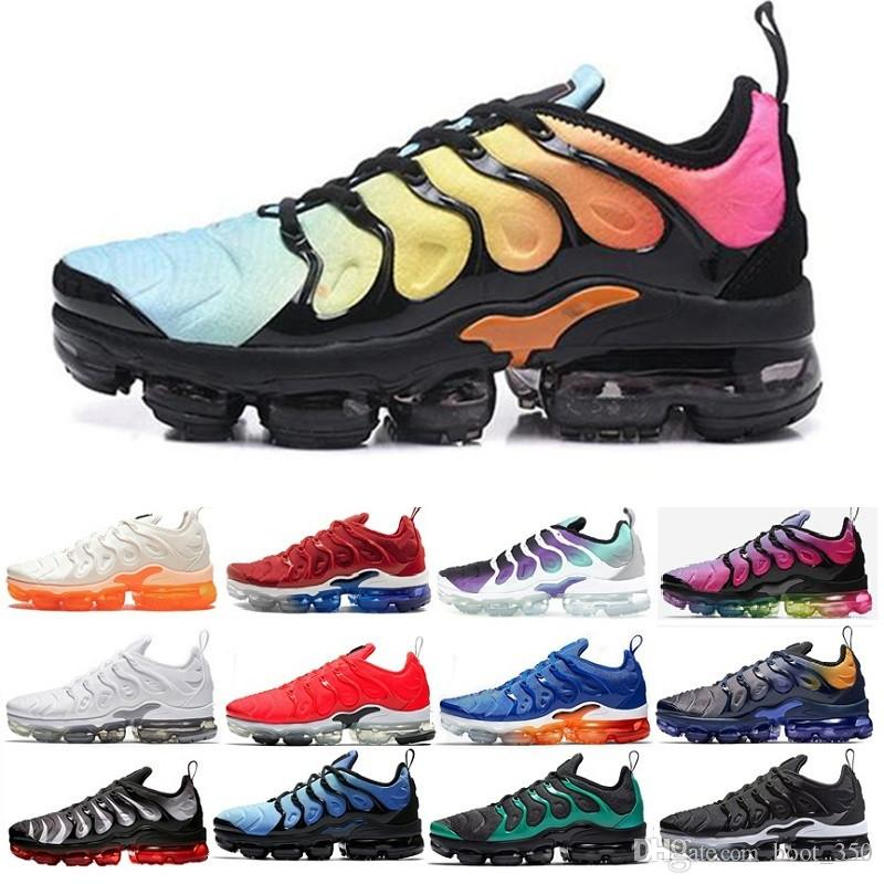 nike Vapormax Tn plus air max airmax TN Plus Zapatillas de running Para Hombres Mujeres Smokey Malva Coloring String Olive In Metallic Designer Triple Trainer Sport Sneakers 2019