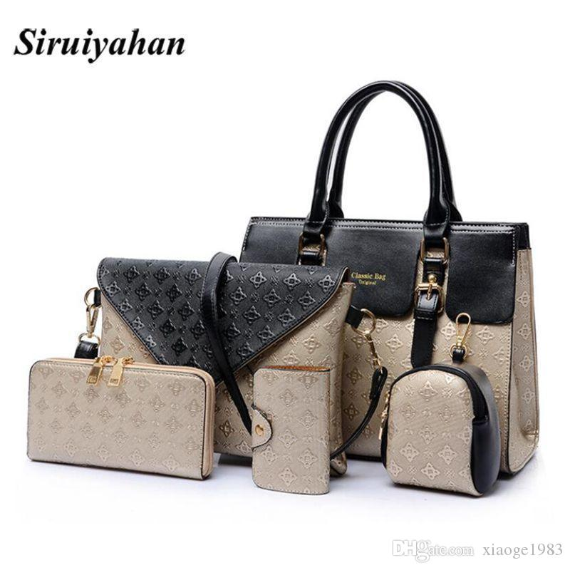 2018 New Women Bags Leather Handbags Fashion Shoulder Bag Female Purse  Ladies Crossbody Designer Brand Bolsa Feminina Handbag Wholesale Womens Bags  From ... d09487fe1e34a