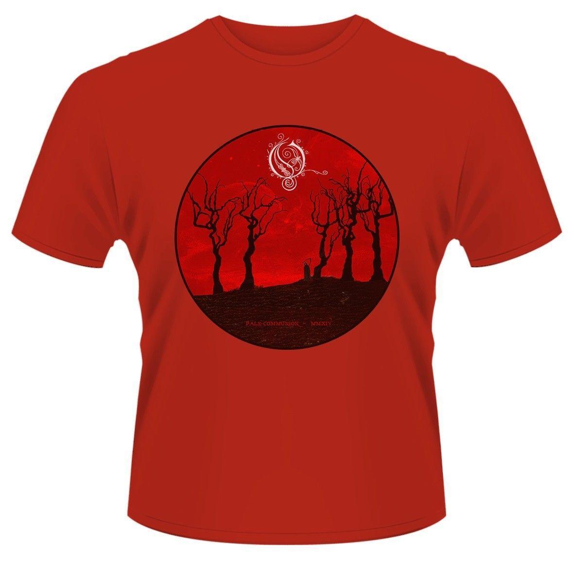 Camiseta Pale Envío De Moda Gratis Y HombresMujeres Communion Unisex Para Opeth Reaper shdCtQr