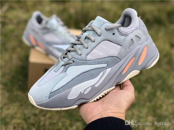watch a9640 aa630 700 Inertia West Wave Runner 700 V2 Static Mauve Solid Grey 2019 Kanye West  Run Casual Shoes Men s Shoes Womens Sneakers Mens Sports