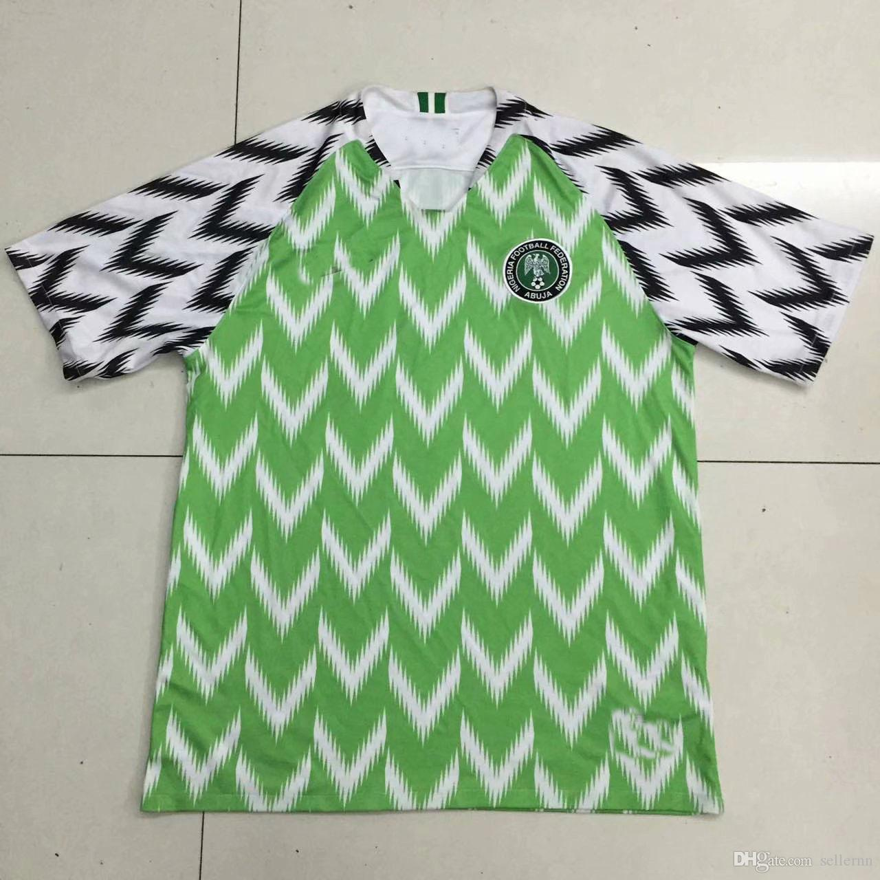 2019 Africa Cup Home and Away Soccer jersey 19 20 Customized Okechukwu OKOCHA AHMED MUSA MIKEL IHEANACHO Football shirt