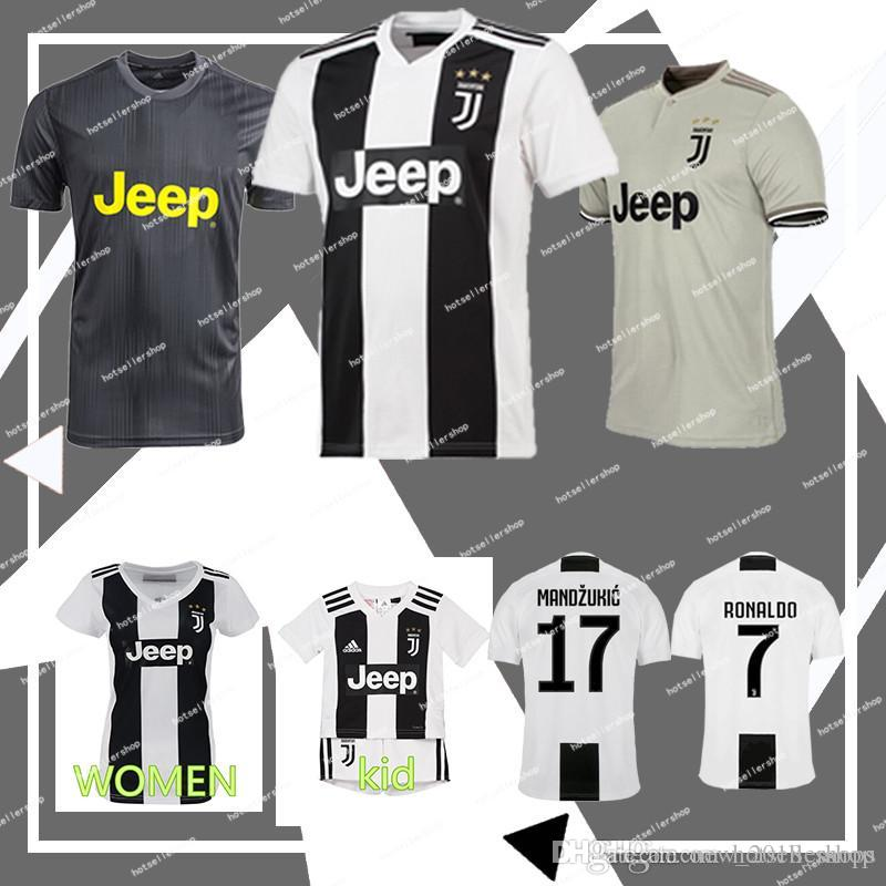 5c2766cfc 2019 Juventus Ronaldo 7 Soccer Jersey Cuadrado CR7 9 HIGUAIN 10 DYBALA 11  D. Costa 17 MANDZUKIC 1 BUFFON 33 Player Version From New 2018 shops