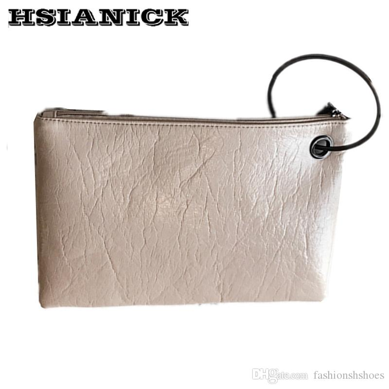 d05a664ad8 lady bright envelope bag 2019 summer new women's bag fashion ring design  clutch handbag simple casual clutch luxury handbag #274830