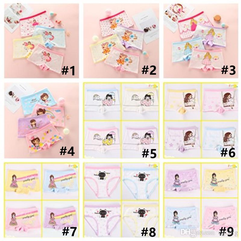 Bragas de los niños Linda dibujos animados Ropa interior de los niños Ropa interior para niños Pantalones cortos de algodón Bebé boxeador Bebé Panty Envío gratis