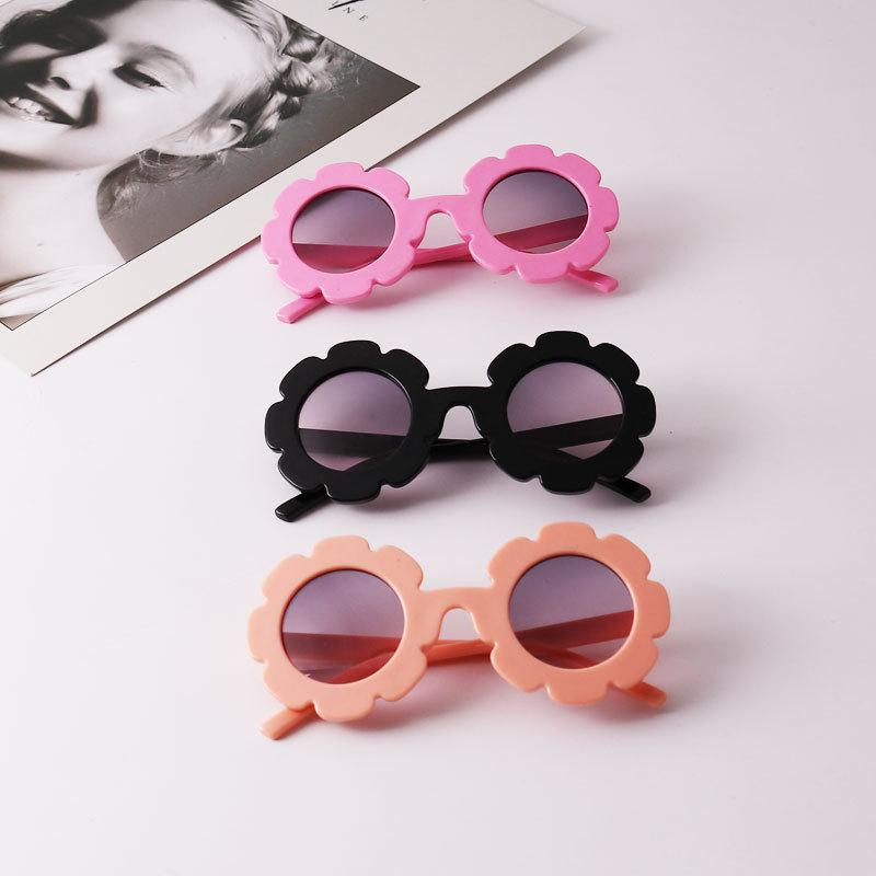 d2edd08e38954 2019 NEW Sun Flower Round Cute Kids Sunglasses UV400 For Boy Girl Lovely Baby  Glasses Children Oculos De Sol N554 Suncloud Sunglasses Foster Grant ...