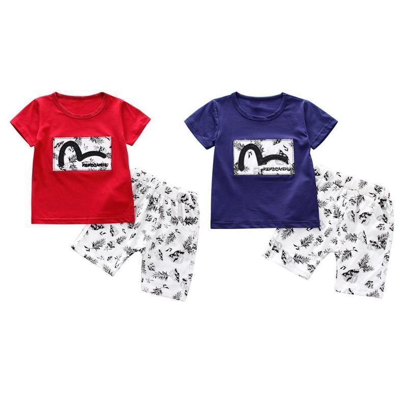 Jungen T-shirt Nette Sommer Kurzarm Cartoon Kinder T Shirt Baby Kinder Kleidung T-shirts Oberteile Und T-shirts