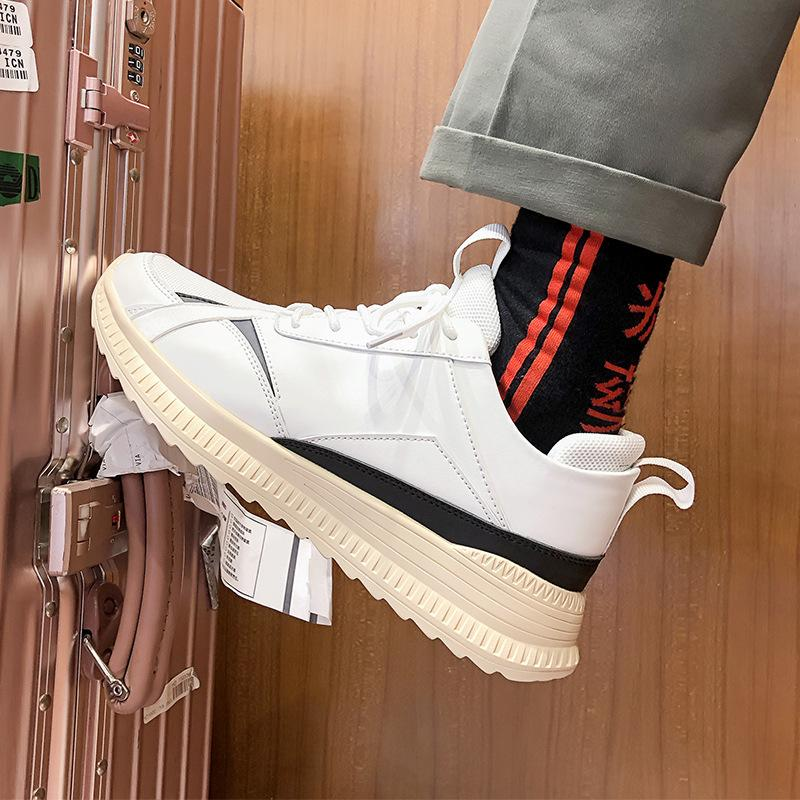 2019 summer new breathable low shoes men canvas shoes Korean casual wild fashion white flats sneaker E21-59