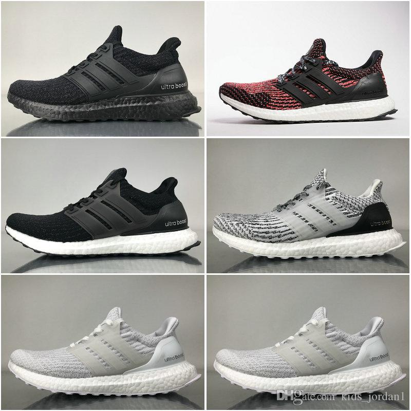 500bc234022e8 Best Quality Ultra Boost 3.0 Triple Black And White Primeknit Oreo CNY Blue  Grey Men Women Running Shoes Ultra Boosts Ultraboost Snakers Best Toddler  ...