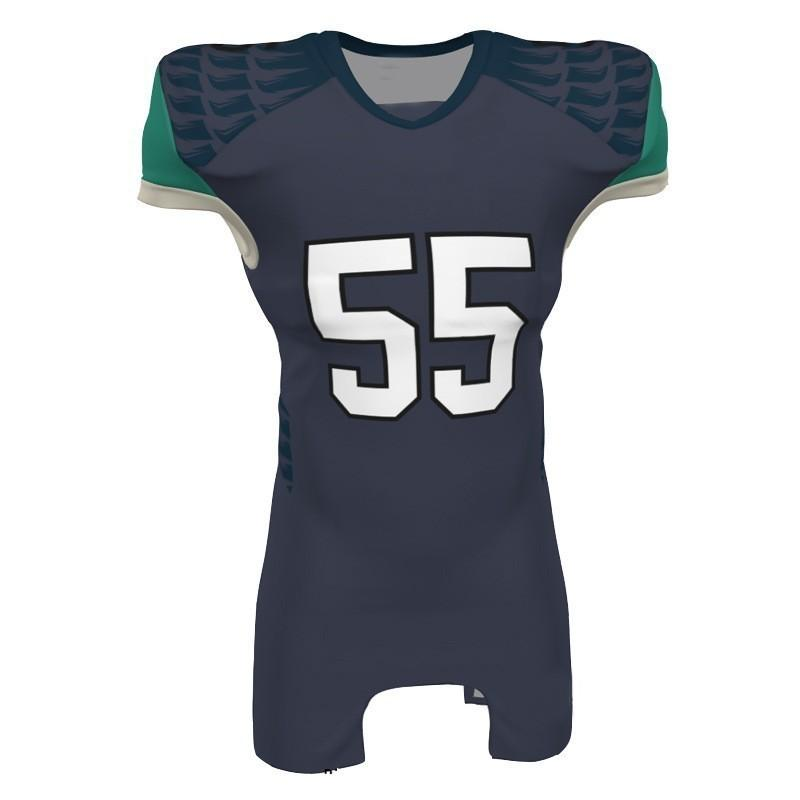 new styles 2c905 32a72 2019 Mens New Football Jerseys Fashion Style Black Green Sport Printed Name  Number S-XXXL Home Road Shirt AFJ00192