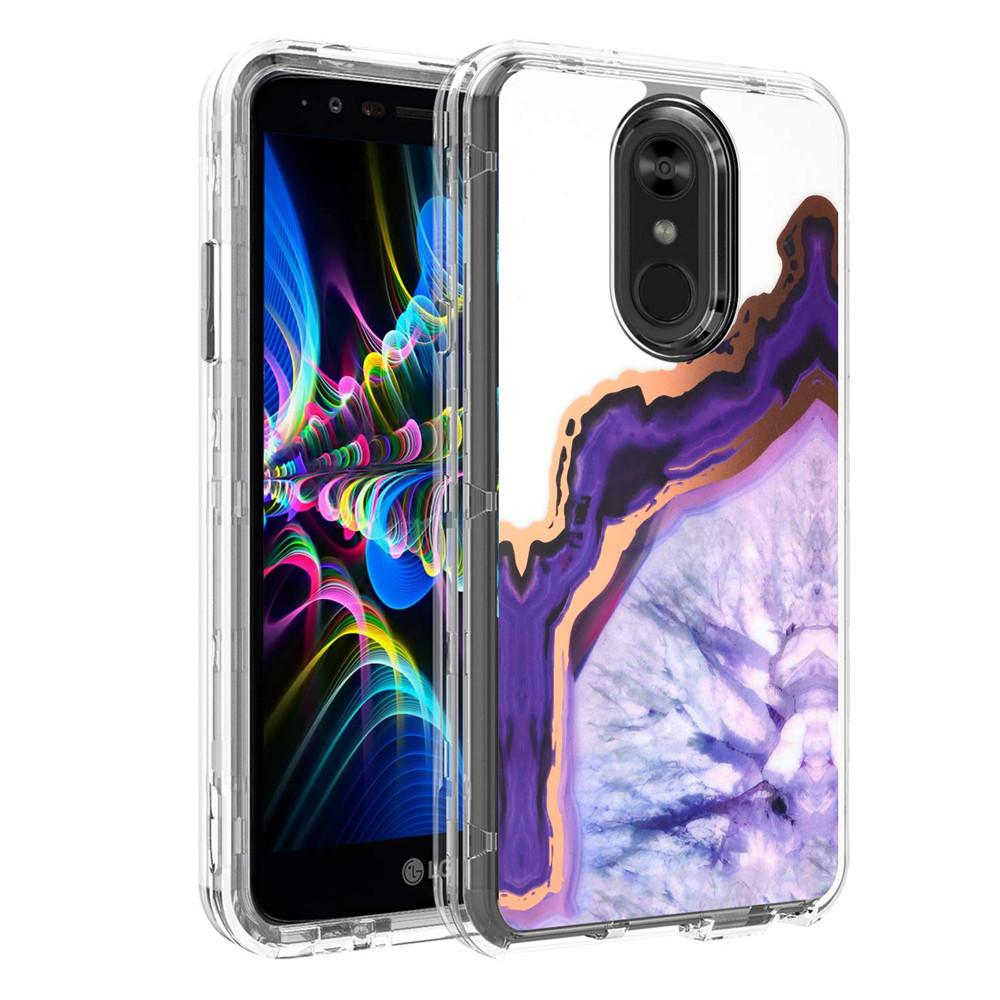 For LG Stylo 4 Case Luxury Marble Heavy Duty Shockproof Full Body  Protection Cover Phone Cases For LG Stylo 4