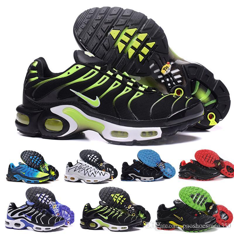 nike Tn plus air max airmax Zapatillas para hombre originales Wmns Plus TN Se Designer Chaussures Homme TN Zapatillas de baloncesto Hombre Zapatillas