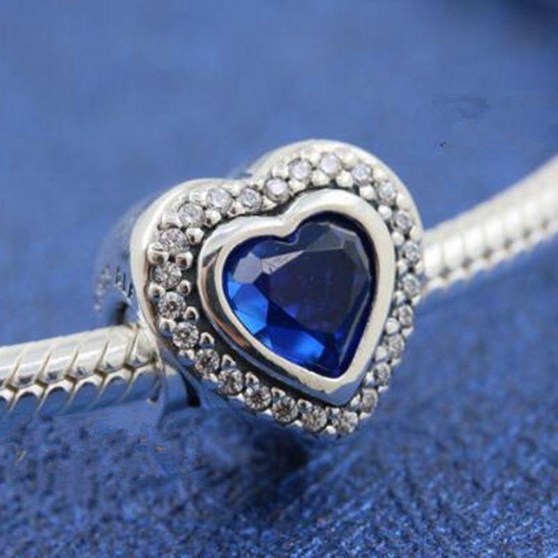 d1ae3639866da New2018 Winter 925 Sterling Silver Sparkling Love Charm Bead Fits European  Pandora Jewelry Bracelets Necklaces & Pendants