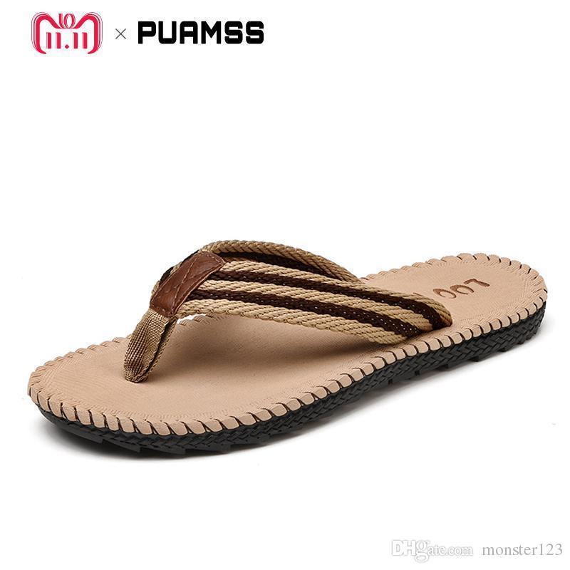 Cómodas De Moda Zapatos Playa 45 Tallas Zapatillas Verano Chanclas 2018 Grandes Frescos Sandalias Hombres CxoeWrdB