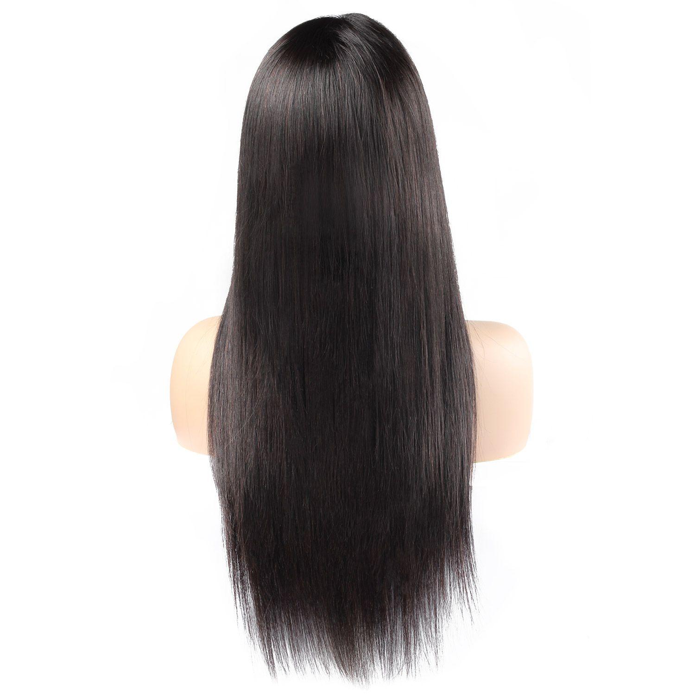 Pelucas indias del cuerpo humano de la onda 360 del cuerpo peruano del cordón pelucas llenas del pelo brasileño de 10