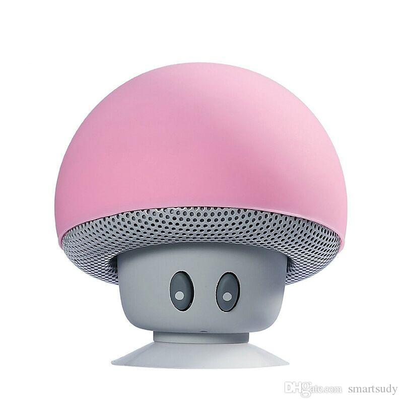 Mini bluetooth speaker Mushroom Shape Loudspeaker Super Bass Stereo Subwoofer Music Player For iPhone Andriod Mobile Phone