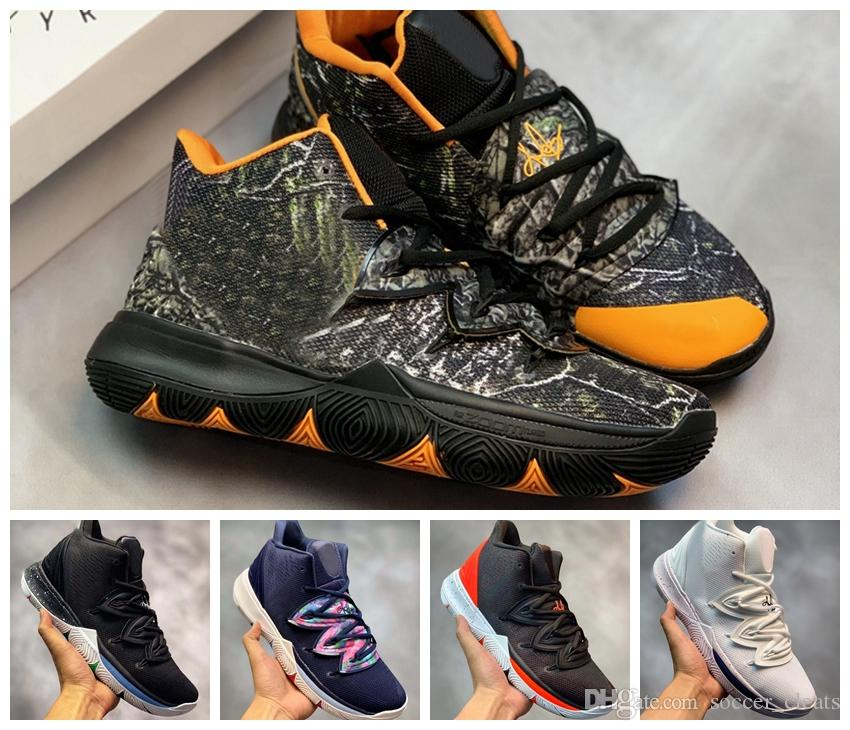 a242ccd1f2 2019 New Limited 5 5s Taco Black Magic Basketball Shoes for Kyrie ...