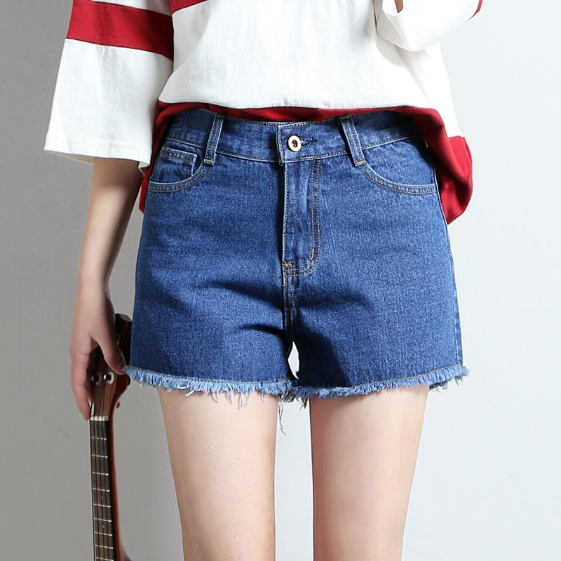 4df309776e 2019 2019 Euro Style Women Solid Denim Shorts Vintage Mid Waist Tassel Jeans  Shorts Street Wear Sexy Wide Leg For Summer From Armhole, $33.92 |  DHgate.Com