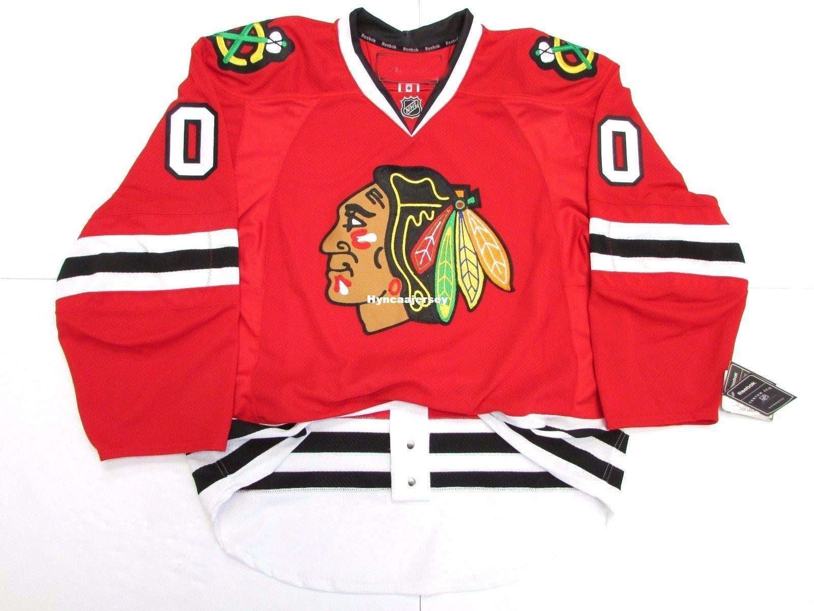 4cb0a6cd9 2019 Cheap Custom CHICAGO BLACKHAWKS ANY NAME   NUMBER HOME HOCKEY JERSEY  Stitch Hockey Jersey XS 6XL From Hyncaajersey