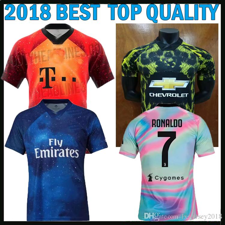 307efd154 2019 18 19 Juventus EA Sports Jersey 2018 2019 BAYERN Munich EA Sports  Digital INSANE REAL Madrid Football Shirt United Maillot From  Lxsjersey2018