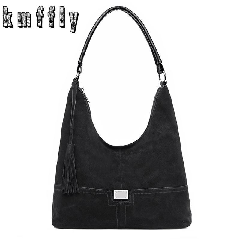 ac3e6bdf3233 2018 Vintage Fashion Casual Tote Faux Suede Bags Handbags Women Famous  Brands Luxury Leather Women Bag Female Shoulder Bags 2018 Man Bags  Crossbody Purses ...