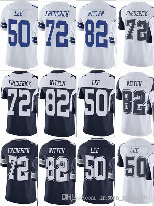 san francisco 20f4e e96bb Cowboy 82 Jason Witten 50 Sean Lee 72 Travis Frederick Men Women Youth  Vapor Untouchable Color Rush Custom Elite Football Jersey