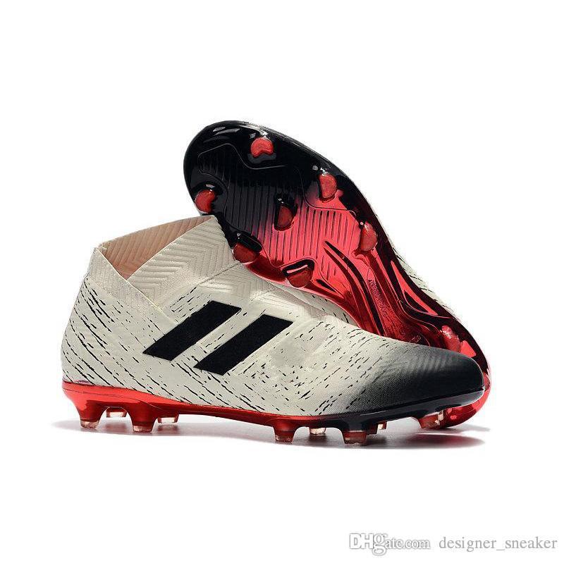 5f487c5fb38324 Scarpe Primaverili Hot Nemeziz 18.1 18+ FG Messi Soccer Mens 18 + X Scarpe  Da Calcio Agility Bandage Spectral Mode Soccer Boots Taglie Taglia US6.5 11  ...