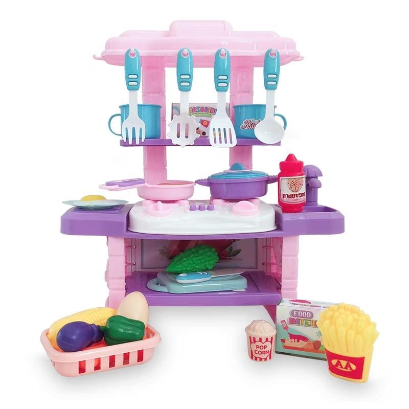 Acquista Mini Cucina Bambini, Giocattoli, Bambini E Bambine Che ...