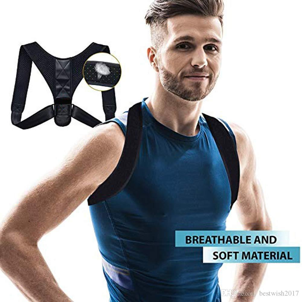 High Class Group | Posture Corrector for Women - Men | Relieves Your Back Pain and Retrains Shoulders | Back Brace for Upper Back