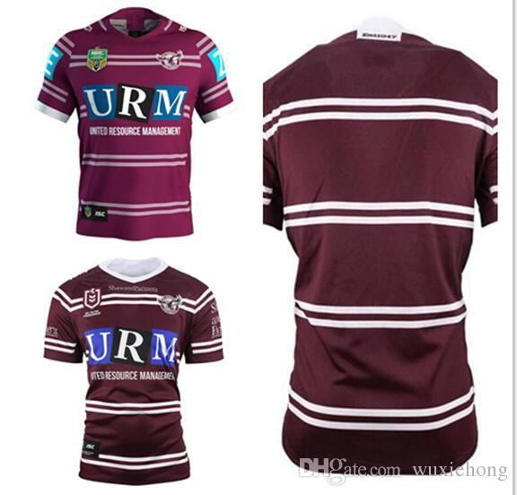 83f1d923605 AAA+ 2019 2020 Manly Sea Eagles Home Jersey NRL National Rugby ...