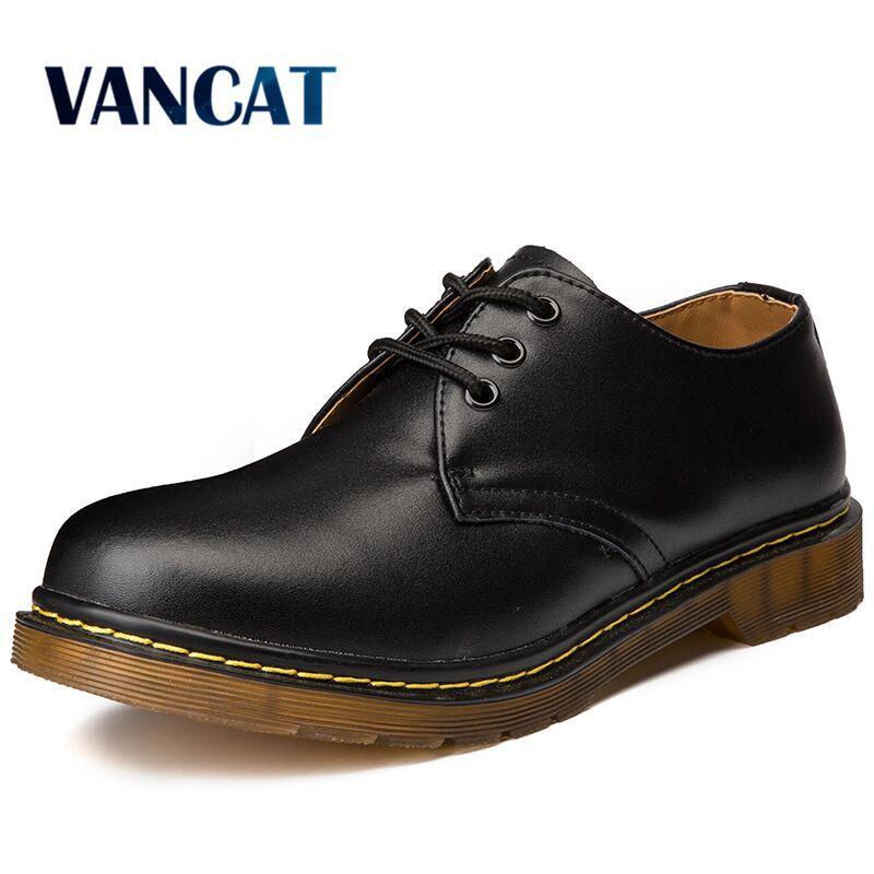 7e6715d488f0a Compre Gran Tamaño De La Marca Transpirable Zapatos Oxford De Los Hombres  Zapatos De Vestir De Calidad Superior Pisos De Los Hombres De Moda De Cuero  ...
