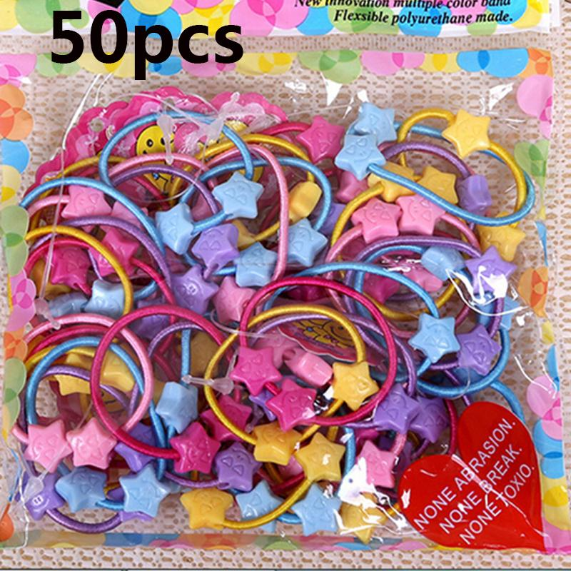 Bag Child Baby Kids Small Cartoon Bears Flowers Rabbit Star Ponytail  Holders Hair Accessories For Girl Rubber Band Tie Gum Childrens Wedding  Hair ... 0378159d87c