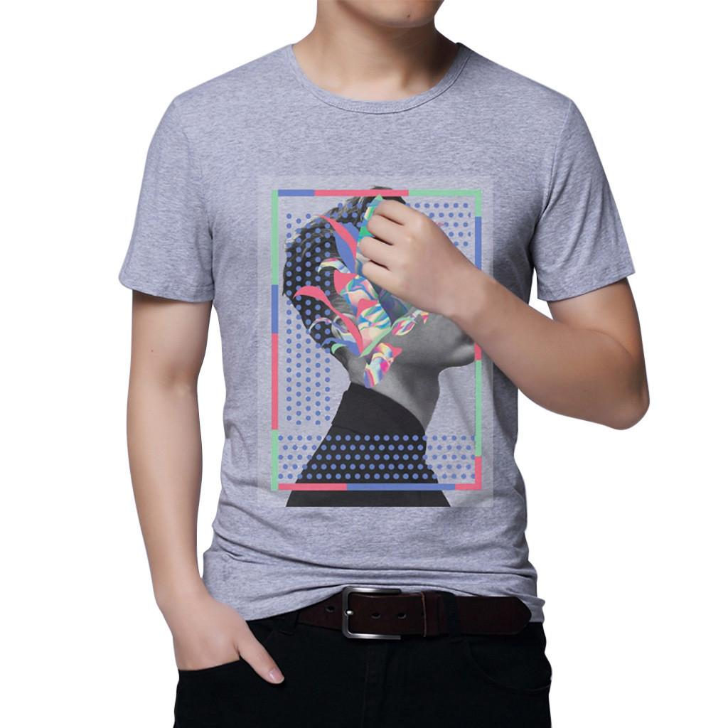 c038ed67e703 Good Quality 2019 New Trendy Men T Shirt Funny Printed Short Sleeve T-shirt  Of Men Fashion Short Sleeve Mens Clothing Tops & Tees Online with  $32.75/Piece ...