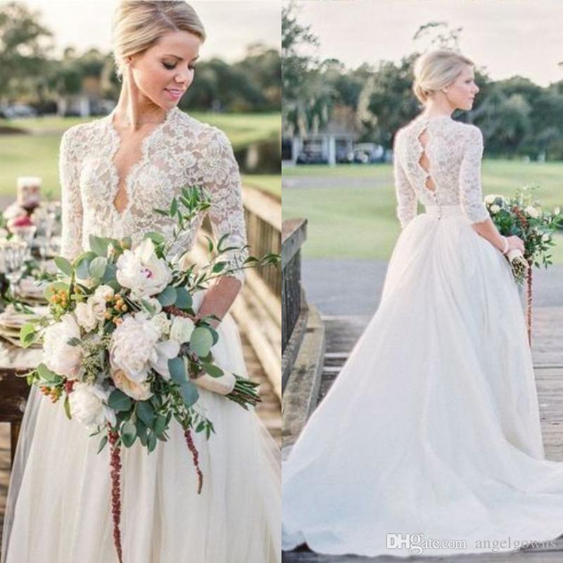 Vestidos de novia rusticos