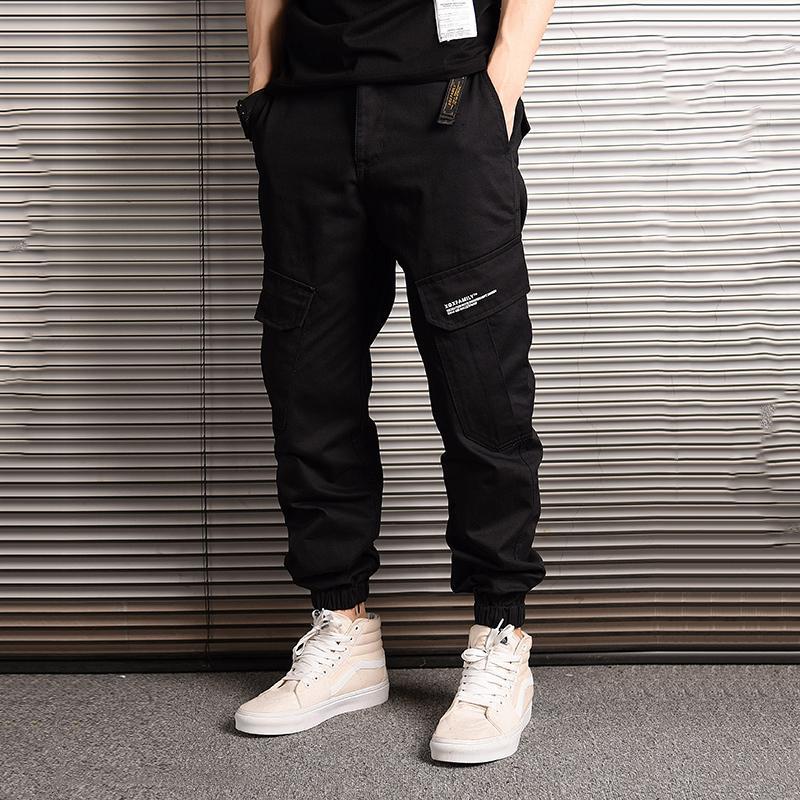 339cbfd3cf Compre American Streetwear Moda Hombre Jeans Camuflaje Jogger Pantalones  Hombres Big Pocket Pantalones Cargo Hombre Estilo Japonés Hip Hop Jeans A   80.94 ...