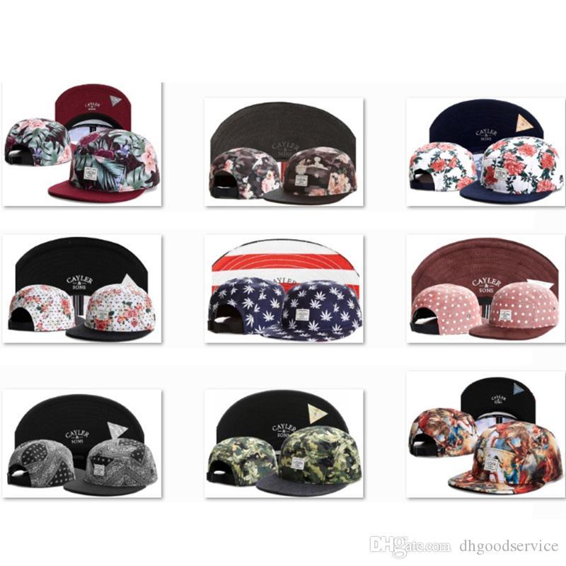06466e0a4f0 CAYLER   SONS Snapbacks Best Strapback Hats Mens Designer Baseball Caps  Boys Men Designer Bobble Hat Cotton Baseball Cap Snapback Hats CS20  Headwear Flat ...