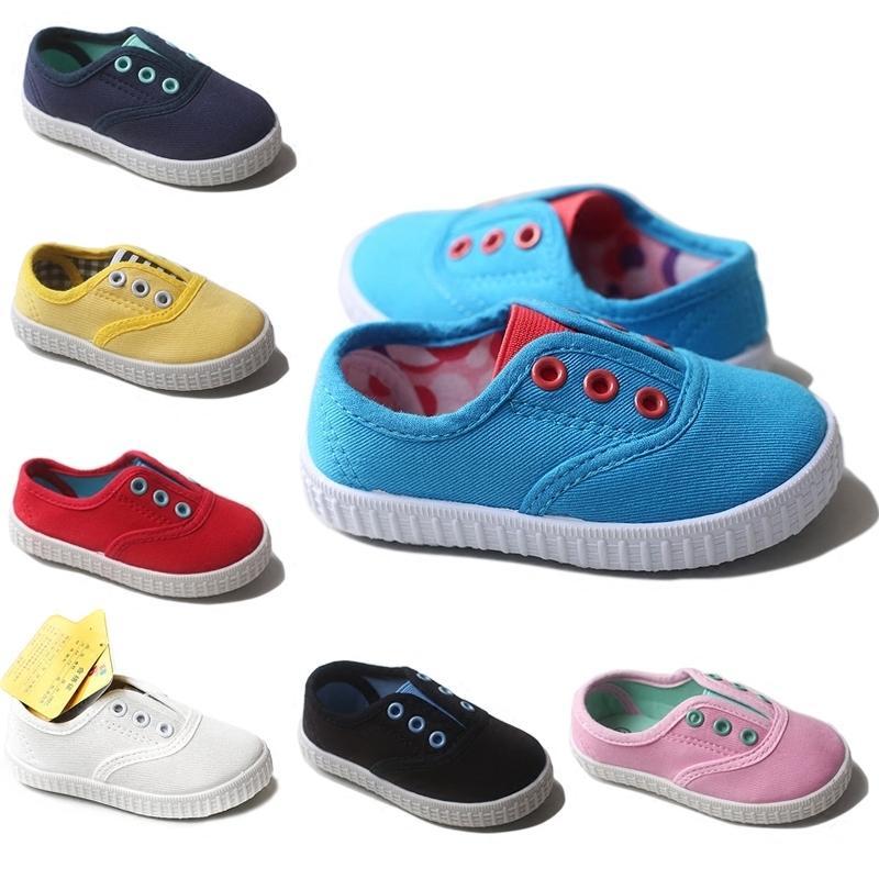 Acquista Scarpe Bambini 2019 Primavera Autunno Bambini Scarpe Casual  Ragazzi Ragazze Scarpe In Tela Morbida Comoda Slip On Fashion Sneakers  Taglia 20 29 A ... 5317a728494