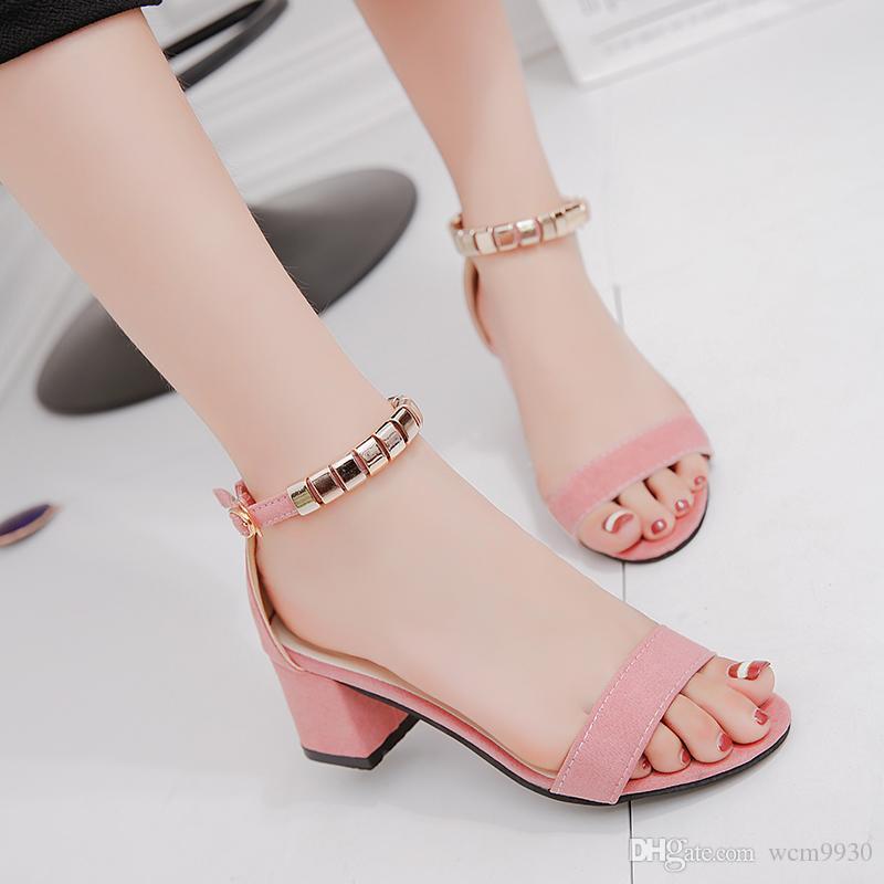 ee7775bde271 Metal String Bead Summer Women Sandals Open Toe Shoes Women S ...