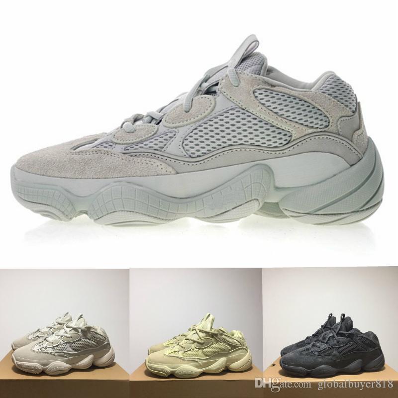 Adidas Yeezy 500 air jordan off white vepormax new balance skechers redbottoms slipper basketball men shoes Super Moon Gelb Laufschuhe Kanye West