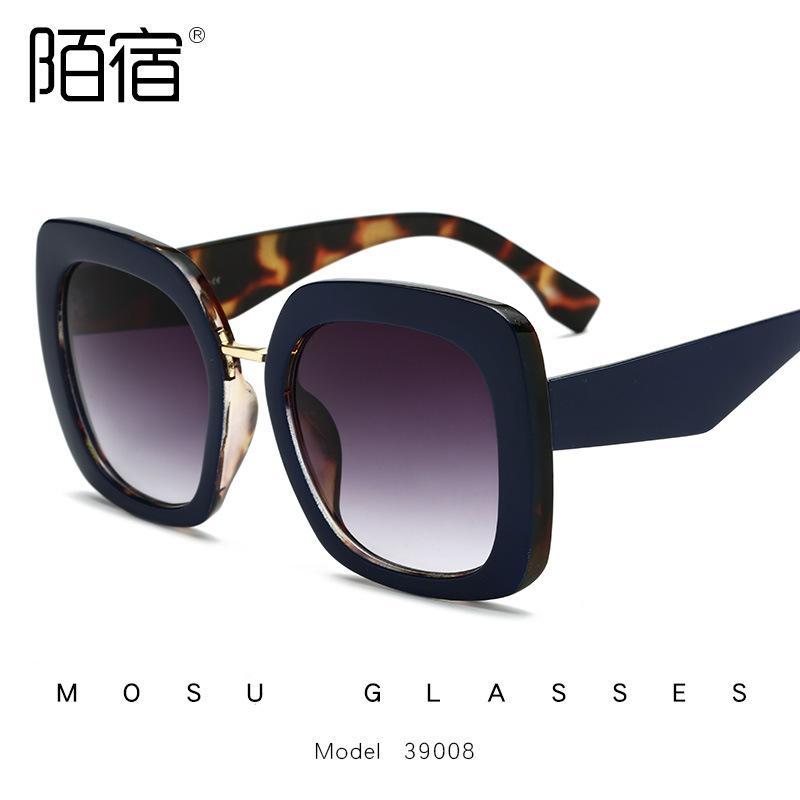 efb955ee1ab Oversized Sunglasses Women 2019 Square Sunglass Ladies Luxury Brand Vintage  Big Frame Sun Glasses Female Trend Eyewear Cheap Prescription Sunglasses ...